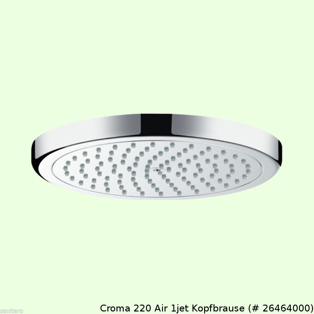 hansgrohe showerpipe croma 220 reno brausegarnitur. Black Bedroom Furniture Sets. Home Design Ideas
